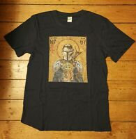 The Mandalorian Blue T Shirt Adult Star Wars Baby Yoda Mando This Is The Way New