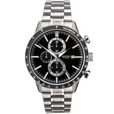 SEKONDA Da Uomo Cronografo in acciaio inox modello 1375 RRP £ 89.99