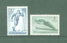FINLANDIA/FINLAND 1958 MNG SC.354/55 Nordic Champ.of Intl.Ski Federation