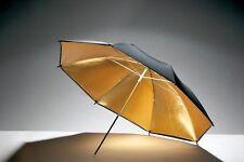 Paraguas dorado-negro 101cm-ENVIO GRATIS