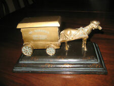Badcock Home Furniture Horse Drawn Carriage 100 Years 1904-2004 on Wooden Base