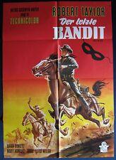 orig. Filmplakat   Der letzte Bandit / Billy the Kid   Robert Taylor