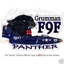 Grumman F9F Panther US NAVY USA - Vinyl Sticker, Decal