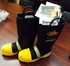 "Thorogood Men's 14"" Steel Toe Insulated Felt Fire Boots SIZE 8"