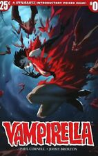 VAMPIRELLA ISSUE 0 - DYNAMITE COMICS - PAUL CORNELL & JIMMY BROXTON