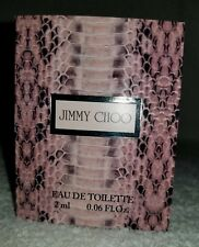 Jimmy Choo JIMMY CHOO Eau De Toilette EDT Spray Women Sample Vial .06 oz/2mL New