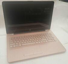 HP PAVILION 15-BW013CY AMD A9-9420 3GHz 4GB RAM ROSE GOLD LAPTOP WARRANTY [Z1]
