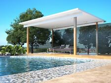 Patio Kit - Cabana 3.8m x 3.8m Poolside Lifestyle - Insulated Roofing panels