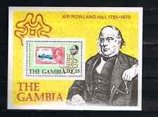Malawi 1979 Satz 390/93+Block 4 Sir Rowland Hill Postfrisch