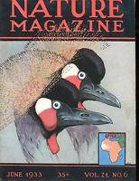 Nature Magazine June 1933 VG No ML 020617jhe