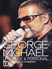 George Michael - Up Close & Personal (2014) BRAND NEW & SEALED UK ALL REGION DVD