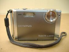 Good Working Olympus Stylus 730 7.1 MP Mega Pixel All Weather Digital Camera