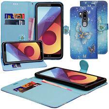For LG G6/G7/Q6/K8/K4 2017 Leather Flip Slim Wallet Magnetic Stand Case Cover