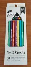 Yoobi I Am Other 18 Pack Pencil Set Inspirational