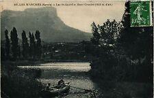 CPA  Les Marches (Savoie) - Lac St-André et Mont Granier (1938 m d'alt) (352218)