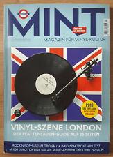 MINT Magazin für Vinyl - Kultur Nr. 25 01/19 Vinyl-Szene London...