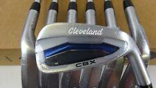 Cleveland Golf Launcher CBX Irons 4-PW Steel Shaft Regular Flex