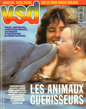 VSD N°753 michelle pfeiffer Melle coco chanel jeremy jones dauphins JO-2  1992