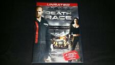 DEATH RACE DVD 2008 MOVIE VIDEO FILM DISC JASON STATHAM TYRESE GIBSON JOAN ALLEN