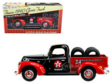 "1940 FORD PICKUP TRUCK ""TEXACO"" W/ TIRES 1:32 DIECAST MODEL CAR BY BTI 0612"