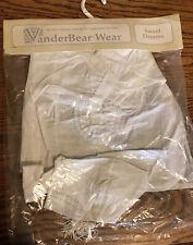 """Vanderbear Wear White Sweet Dreams 20"""" CORNELIUS Bear PJ outfit Brand new"""