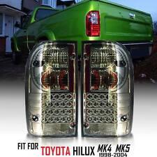 Rear Tail light LED Smoke Len Toyota Hilux Tiger Mk4 Mk5 98 99 00 01 02 03 04