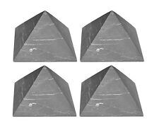 Set of 4 Shungite pyramid against EMF schungit Russia energy stone S100