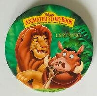 Animated Storybook The Lion King Movie Disney Pin Badge Rare Vintage (R7)