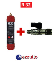 BOMBOLA GAS REFRIGERANTE R32 da 1 LITRO PER CONDIZIONATORI CON RUBINETTO
