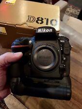 Nikon D810 with Nikon Vertical Grip...Low Shutter!