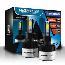 Nighteye 72W 9000LM H3 LED Kit Faro Bombilla Delantero Lámpara Bulbo Coches