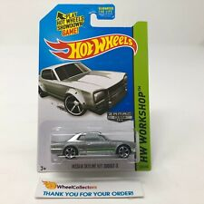 Nissan Skyline H/T 2000GT-X #225 * ZAMAC * 2014 Hot Wheels * JC19