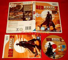 RED STEEL 2 Nintendo Wii Versione Ufficiale Italiana 1ª Edizione ○ COMPLETO