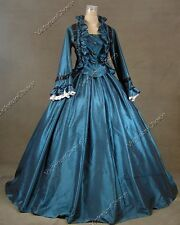Victorian Christmas Dickens Fancy Dress Ball Gown Halloween Costume N 170 XXL