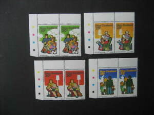 NEW ZEALAND NHM SET IN PAIRS-1981 FAMILY LIFE(with colour controls)  SG 1239/42