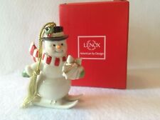 Lenox Very Merry Snowman Ornament