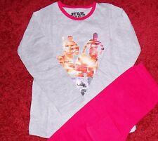 gris para niña y rosa Star Wars Pijama en edades 5-6 años NUEVO CON ETIQUETA