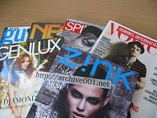 ARCH001 LOT MINI ANDEN PETE DOHERTY Zink Genlux Vogue Hommes Spin Neo2 2008 Guys