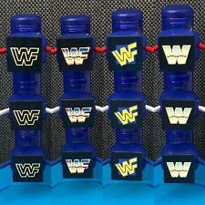Custom WWE/WWF Hasbro Toy Wrestling Ring Turnbuckle Pads Set x12 - Choose Design