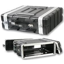 "555-15622 PA DJ 3RU Stackable Rack Mount Flight Storage Case Concert 19"" Stage"