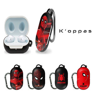 Official Disney Marvel Spider Man Samsung Galaxy Buds Case Cover With Clip