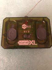 HexBug Scarab Xl Yellow Green Radio Rc Robotic Creature Large Remote Control
