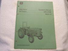 John Deere 820 Tractor Operator Manual