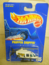 Hot Wheels 1:64 Scale 1995 Silver Series PROPPER CHOPPER POLICE