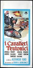 "CINEMA-locandina I CAVALIERI TEUTONICI alexander ford,""Krzyżacy"""