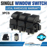 3x Power Single Window Switches for Toyota Landcruiser 70 80 Camry Hiace Prado