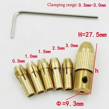 Mini Drill Collet Set 0.5-3.0mm Fit For Micro Twist Electronic Drill Chuck