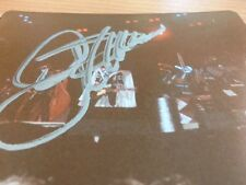 KISS ORIGINAL PHOTO FROM PERTH ENTERAINMENT CENTRE NOVEMBER 1980 SIGNED BY GENE