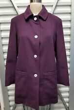 Women Piacenza Coat Cashmere 100% made in Italy size 44