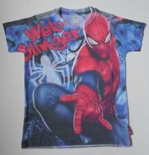 Spiderman Marvel Heroes T-shirt (18 mths ,2, 3, 4, 5, 6, 7 ans) EX magasin